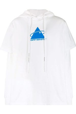 OFF-WHITE Triangle double T-shirt hoodie