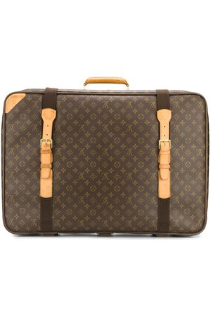 LOUIS VUITTON Monogram print luggage bag