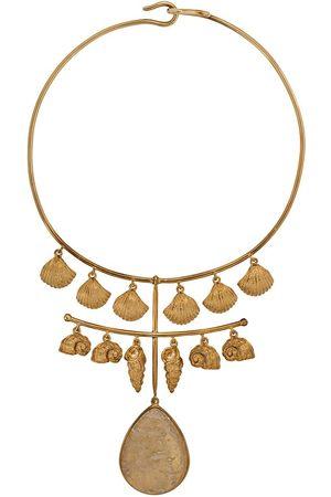 Aurélie Bidermann Panama quartz necklace