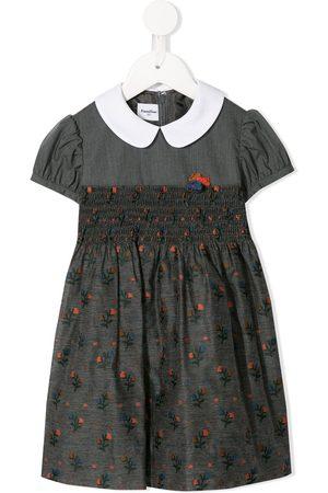 Familiar Girls Casual Dresses - Floral print dress