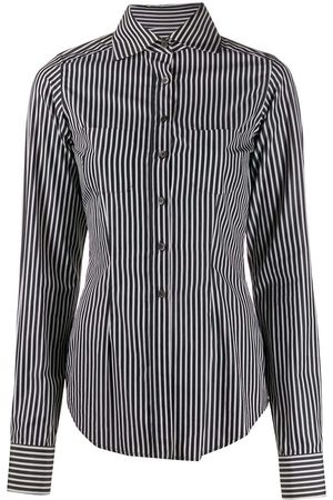 ROMEO GIGLI 1997 fitted striped shirt