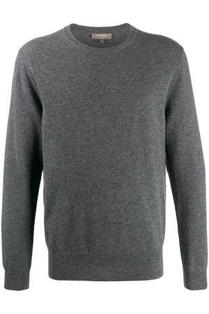 N.PEAL The Oxford crew neck jumper