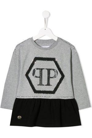 Philipp Plein Logo print dress