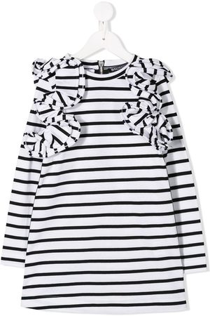Balmain Girls Casual Dresses - Striped dress