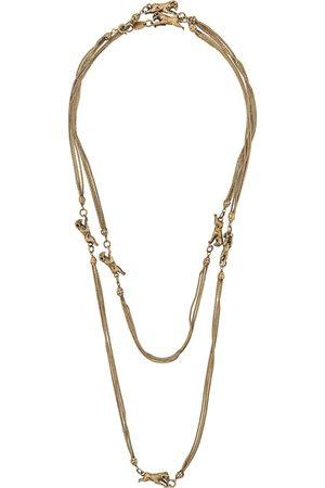 CHANEL 1960s ram charm Goossens necklace