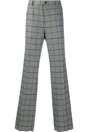 Dolce & Gabbana Checked loose-fit trousers