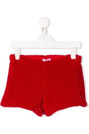 Il gufo Textured shorts