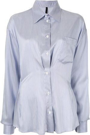 Unravel Project Ruched detail shirt