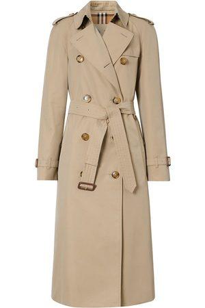 Burberry Cotton Gabardine Trench Coat