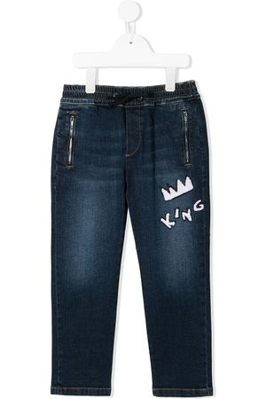 Dolce & Gabbana King patch jeans