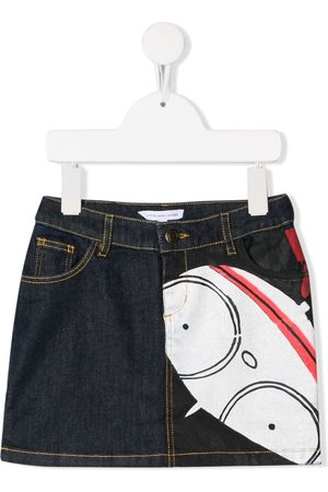 The Marc Jacobs Kids Printed denim skirt