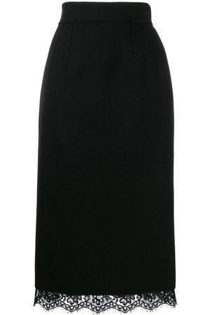 Dolce & Gabbana Basket weave midi skirt