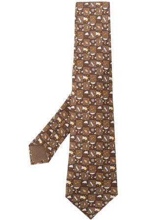 Hermès 2000's printed tie