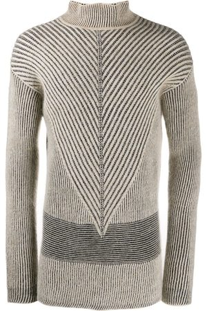 Rick Owens Oversized patterned jumper