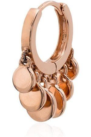 Jacquie Aiche 14kt mini Disco Shaker hoop earring