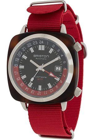 Briston Clubmaster GMT Traveller steel watch