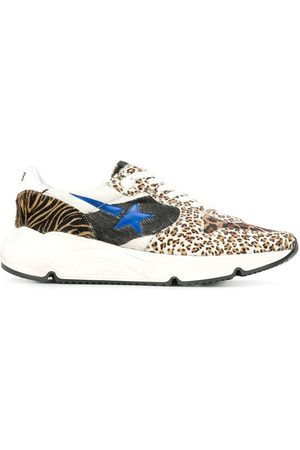 Golden Goose Leopard print low top sneakers