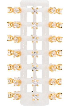 YVMIN Crystal curling-iron earring