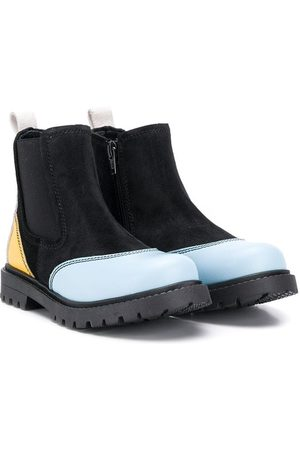 Marni Contrasting panels ankle boots