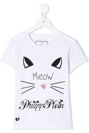 Philipp Plein Round Neck SS Crystal T-shirt