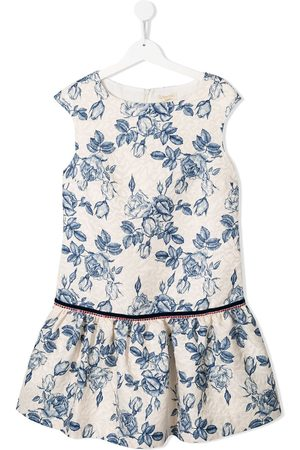 MONNALISA Porcelain roses dress