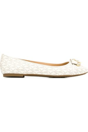 Michael Kors Monogram ballerina shoes
