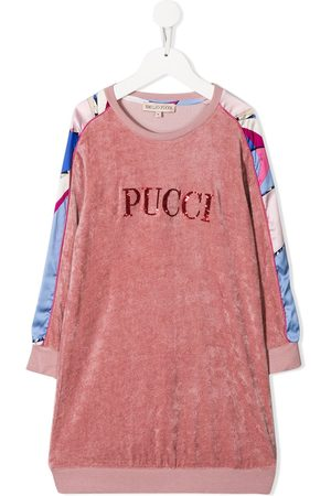 Emilio Pucci Logo sweater dress