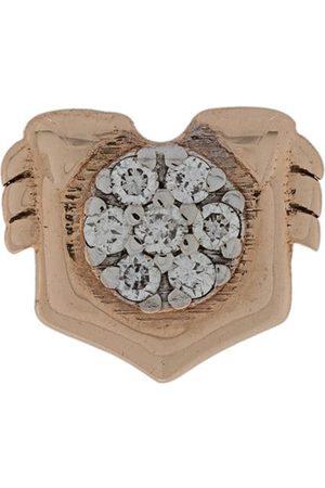 Milka 14kt Leo diamond stud earring
