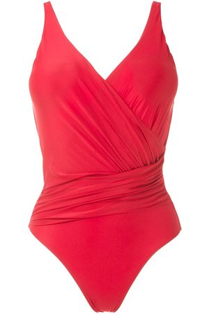 Lygia & Nanny Maisa draped swimsuit