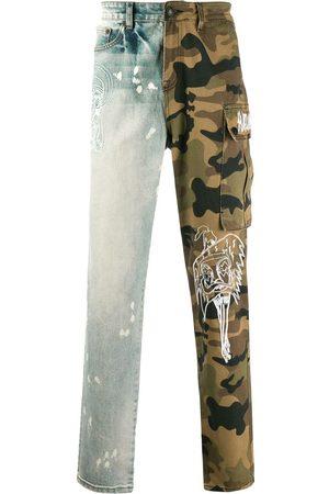 HACULLA Split camo jeans