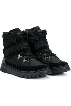 Dolce & Gabbana Boys Boots - Logo ankle boots