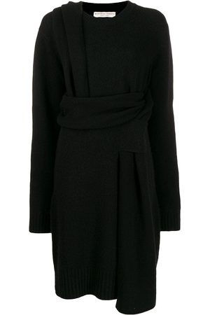 Bottega Veneta Deconstructed wrap dress