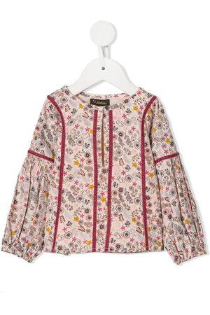 Velveteen Darcy cotton smock top
