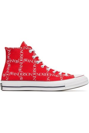 J.W.Anderson Men Sneakers - X Converse Logo Print Sneakers