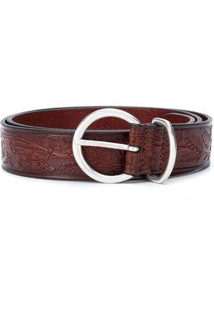 Anderson's Floral textured belt