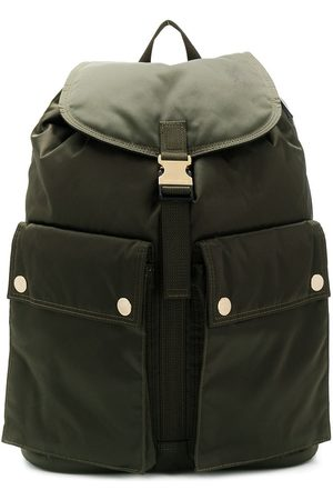 PORTER Olive Nylon Back Pack