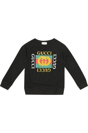 Gucci Logo cotton-jersey sweatshirt