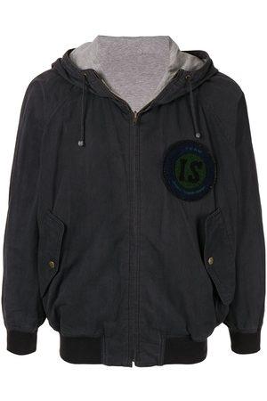 Issey Miyake 1980's Sports Line lightweight reversible hoodie