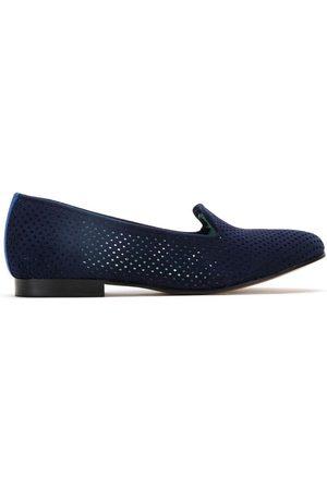 Blue Bird Women Loafers - Suede loafers