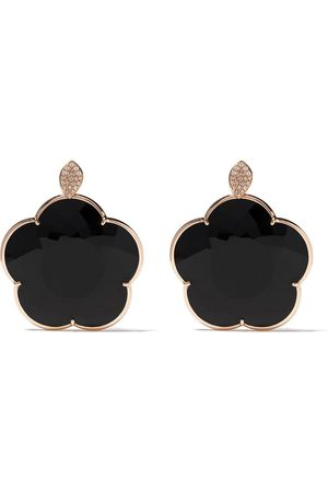 Pasquale Bruni 18kt Ton Jolì onyx and diamond drop earrings