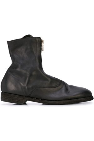GUIDI Men Boots - Zip up ankle boots