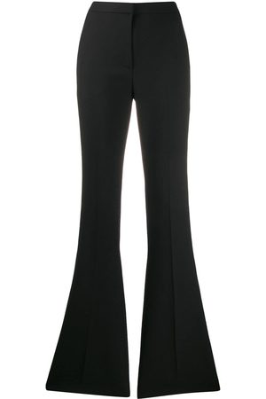 Alexander McQueen High-rise flared tailored trousers