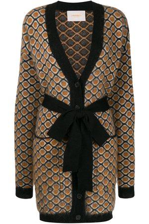 La DoubleJ Women Cardigans - Geometric cardi-coat