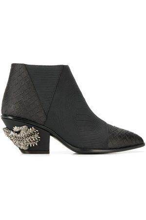 Giuseppe Zanotti Kevan alligator print ankle boots