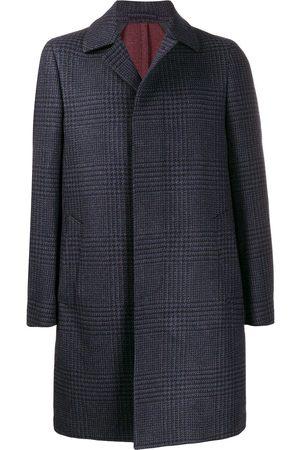 DELL'OGLIO Herringbone check coat