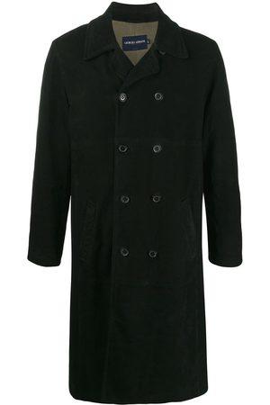 Giorgio Armani 1990s double-breasted trench coat