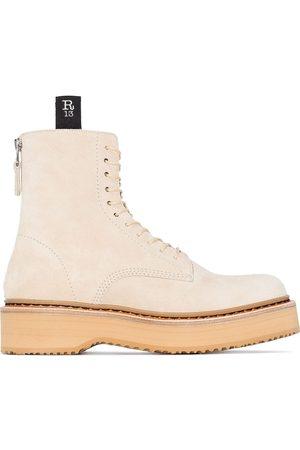 R13 Women Lace-up Boots - Platform lace-up boots