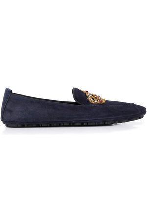 Dolce & Gabbana Crown patch loafers