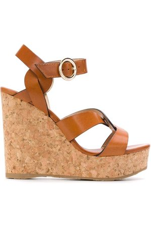Jimmy choo Aleili 120 wedge sandals