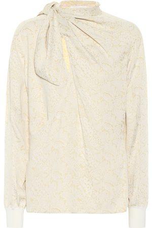 Chloé Printed silk blouse